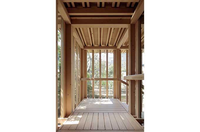 株式会社メグロ建築研究所さんの作品「代々木の渡廊」photo by 鳥村鋼一