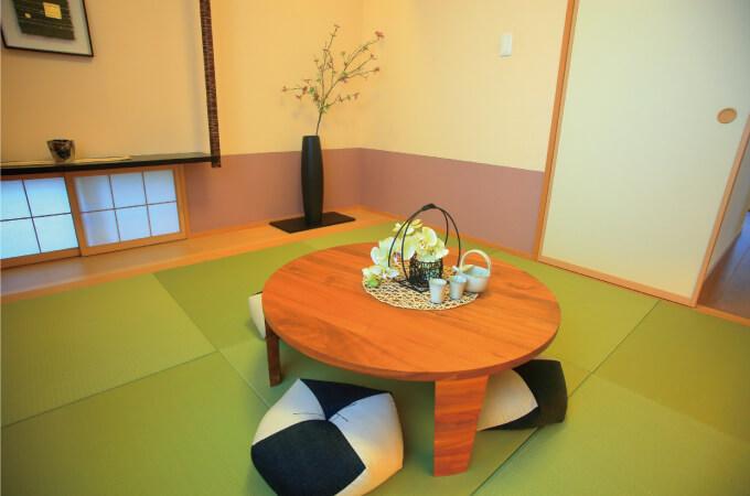 琉球畳のある和室