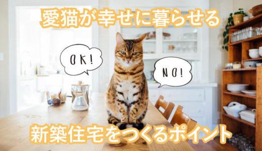 愛猫が幸せに暮らせる新築住宅のポイントを押さえよう!