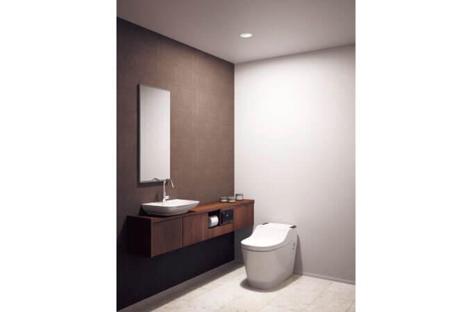 トイレの照明の事例