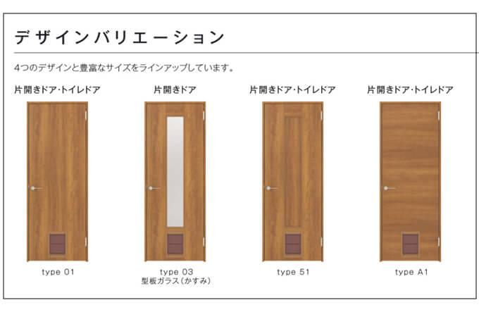 三協アルミのペットドア